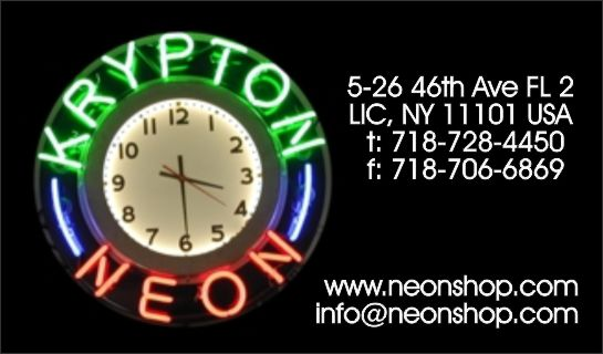 Quick Neon Facts from KRYPTON NEON